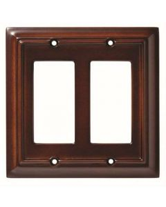 "Espresso 8"" [203.20MM] 2 Rocker Wall Plate by Brainerd sold in Each - 126379"