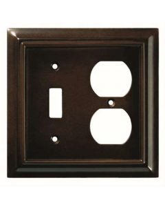 "Espresso 8"" [203.20MM] 1 Toggle Wall Plate by Brainerd sold in Each - 126381"