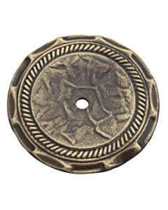 Antique Brass Backplate for Knob by Amerock sold in Each - 1356AB