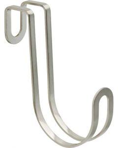 """Satin Nickel 15/16"""" [24.00MM] Over-The-Door Hook by Liberty - 141777"""