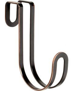 "Bronze / Copper Highlights 15/16"" [24.00MM] Over-The-Door Hook by Liberty - 141778"