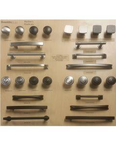 Franklin Brass Builder Pack Display Board on Maple