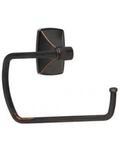 """Oil Rubbed Bronze 6-27/32"""" [173.99MM] Towel Ring by Amerock sold in Each - 26501-ORB"""