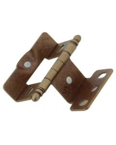 Burnished Brass Full Inset Hinge by Amerock sold as Each - 3175TB-BB