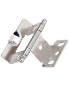 Sterling Nickel Full Inset Hinge by Amerock sold as Each - 3175TB-G9