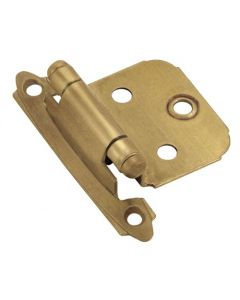 "Gilded Bronze 2-3/4"" [69.85MM] Self-Closing Hinge by Amerock sold as Pair - 3429-GB"