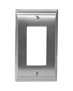 "Satin Nickel 7-9/32"" [185.00MM] 1 Rocker Wall Plate by Amerock sold in Each - 36504-G10"