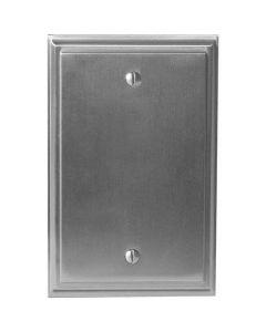"""Satin Nickel 7-9/32"""" [185.00MM] Blank Wall Plate by Amerock sold in Each - 36527-G10"""