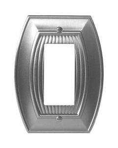 """Satin Nickel 7-9/32"""" [185.00MM] 1 Rocker Wall Plate by Amerock sold in Each - 36532-G10"""