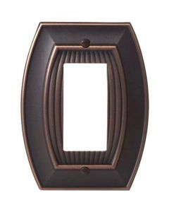"Oil Rubbed Bronze 7-9/32"" [185.00MM] 1 Rocker Wall Plate by Amerock sold in Each - 36532-ORB"