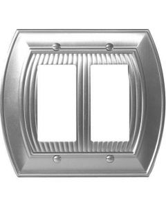 "Satin Nickel 8-9/32"" [210.06MM] 2 Rocker Wall Plate by Amerock sold in Each - 36533-G10"