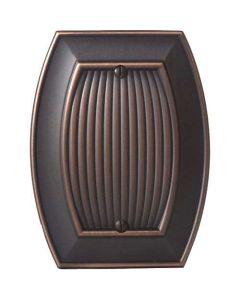"Oil Rubbed Bronze 7-9/32"" [185.00MM] Blank Wall Plate by Amerock sold in Each - 36541-ORB"