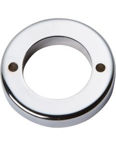 "Polished Chrome 1-7/16"" [36.51MM] Round Base by Atlas sold in Each - 388-CH"