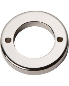 "Polished Nickel 1-7/16"" [36.51MM] Round Base by Atlas sold in Each - 388-PN"