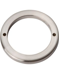 "Brushed Nickel 2-1/2"" [63.50MM] Round Base by Atlas sold in Each - 390-BN"