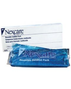 """3M™ 4"""" X 10"""" Nexcare™ Reusable Gel Cold or Hot Pack With Cover (2 Per Box)"""