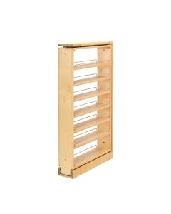 "6"" Tall Filler Pull-Out with Adjustable Shelves - 45.5"" Natural, SKU: 432-TF45-6C"