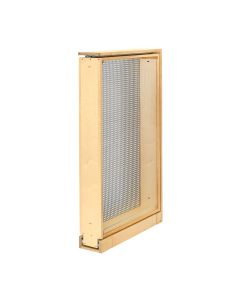 "6"" Tall Filler Pull-Out with Stainless Steel Panel,  45.5"" Natural, SKU: 434-TF45-6SS"