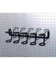 Multi Hole Hanger Black
