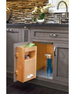 """Grocery Bag Holder for 15"""" Base Cabinets Natural"""