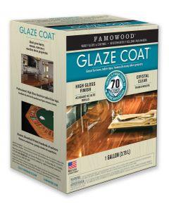 FAMOWOOD GLAZE COAT EPOXY COATING 1 Gallon Kit