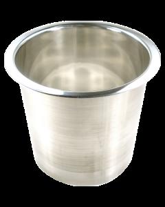 "6143-679 6"" X 6"" Stainless Steel Grommet Trash"