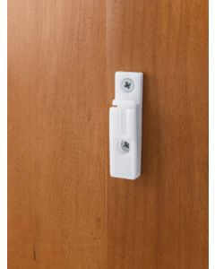 Screw Clips for Door Storage White