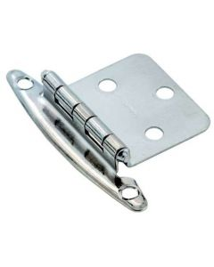 Chrome Non Self-Closing Hinge by Amerock sold as Pair - 69191