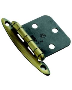 Antique Brass Non Self-Closing Hinge by Amerock sold as Pair - 69192