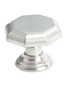 "Brushed Nickel 1-3/8"" [35.00MM] Knob by Berenson sold in Each - 7087-1BPN-C"