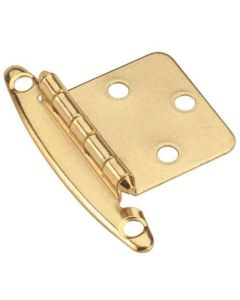 Polished Brass Non Self-Closing Hinge by Amerock sold as Pair - BPR76783