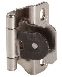 Nickel Single Demountable Hinge by Amerock sold as Pair - CMR871514