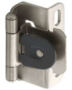 Satin Nickel Single Demountable Hinge by Amerock sold as Pair - CMR8719G10