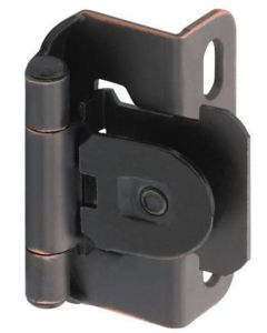 Oil Rubbed Bronze Single Demountable Hinge by Amerock sold as Pair - CMR8719ORB