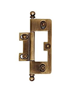 "Antique English 3-1/8"" [79.30MM] Self-Mortise Hinge by Alno sold as Pair - A1093-AE"