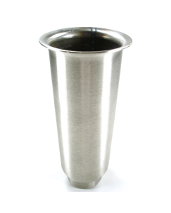 """A52-9907-C 6"""" Stainless Steel Plain Top Flared 2000 lb  Leg"""