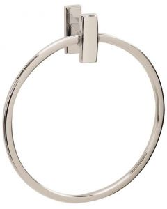 "Polished Chrome 7-3/4"" [197.10MM] Towel Ring by Alno - A7540-PC"