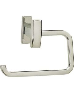 """Polished Nickel 5-1/2"""" [139.70MM] Tissue Holder by Alno - A7566-PN"""