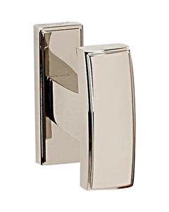 "Polished Nickel 2"" [51.00MM] Robe Hook by Alno - A7580-PN"