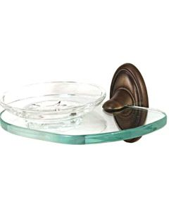 """Antique English Matte 6-5/8"""" [168.00MM] Soap Dish by Alno - A8030-AEM"""