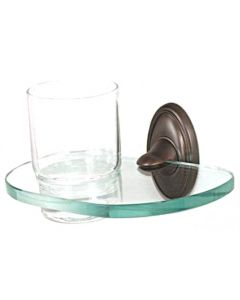 """Chocolate Bronze 6-5/8"""" [168.00MM] Tumbler by Alno - A8070-CHBRZ"""