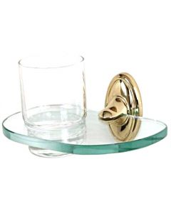 """Polished Brass 6-5/8"""" [168.00MM] Tumbler by Alno - A8070-PB"""