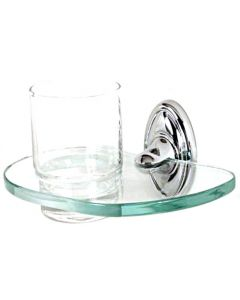 """Polished Chrome 6-5/8"""" [168.00MM] Tumbler by Alno - A8070-PC"""