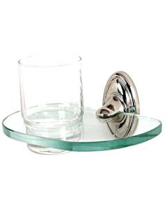 """Polished Nickel 6-5/8"""" [168.00MM] Tumbler by Alno - A8070-PN"""