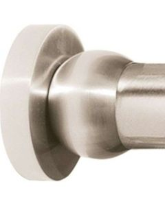 """Satin Nickel 2"""" [51.00MM] Shower Rod by Alno - A8346-SN"""