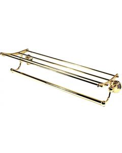 "Polished Brass 24"" [609.60MM] Towel Rack by Alno - A9026-24-PB"