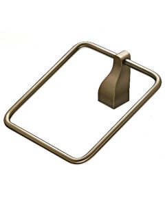 "Brushed Bronze 1-1/4"" [32.00MM] Towel Ring by Top Knobs sold in Each - AQ5BB"