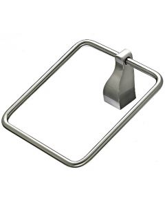 "Brushed Satin Nickel 1-1/4"" [32.00MM] Towel Ring by Top Knobs sold in Each - AQ5BSN"