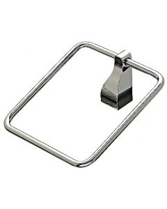 "Polished Nickel 1-1/4"" [32.00MM] Towel Ring by Top Knobs sold in Each - AQ5PN"