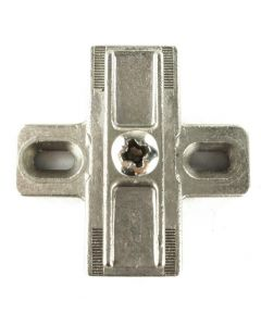 Baseplate Salice Cross Shape Cast Slip-on PN: B2V3BC9 12mm Height